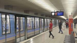 Münchner U-Bahn soll Türen am Bahnsteig bekommen