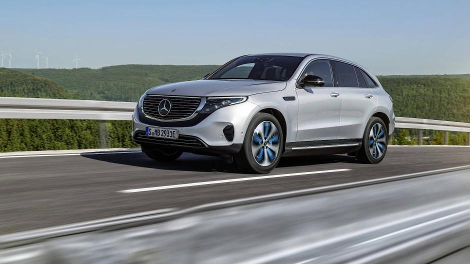 SUV – aber elektrisch: Mercedes will mit dem EQC die Elektromobiliät revolutionieren.