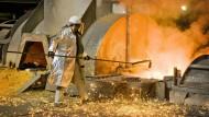Auslaufmodell Hochofen: Stahlkocher von Thyssen-Krupp am Standort Duisburg