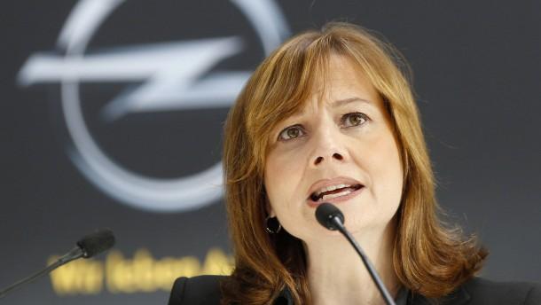 Die Opel-Verkäuferin