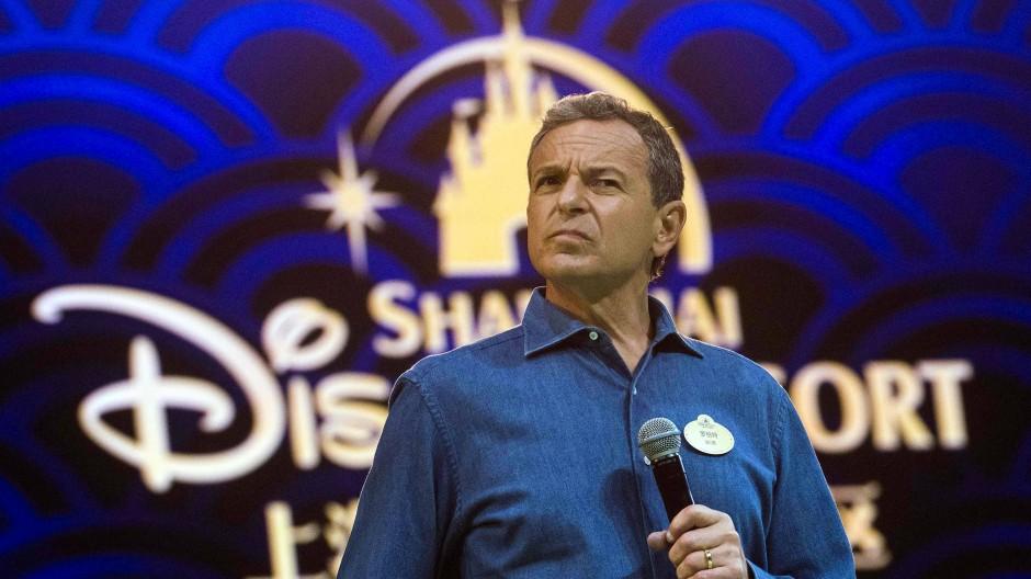 Nun nicht mehr Disney-Chef: Bob Iger bei einer Pressekonferenz im September 2019.
