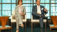 Finanzvorstände Ute Wolf (Evonik) und Luka Mucic (SAP) geben auf dem Deutschen Betriebswirtschaftler-Tag erste Antworten auf die Fragen, die die Unternehmen aktuell beschäftigen.