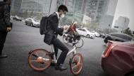 Chinesen entdecken das Fahrrad neu