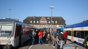 Der Zugverkehr nach Sylt lässt Pendler verzweifeln