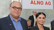 Unter Druck gesetzt: Der frühere Alno-Vorstandschef Max Müller und Ipek Demirtas, einst Finanzchefin des Unternehmens