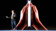 Ein Smartphone, das sich falten lässt: Samsung will neue Wege gehen.