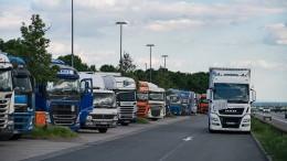 Deutschland fehlen 45.000 Lastwagenfahrer
