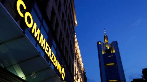 Commerzbank spricht mit der Bundesregierung