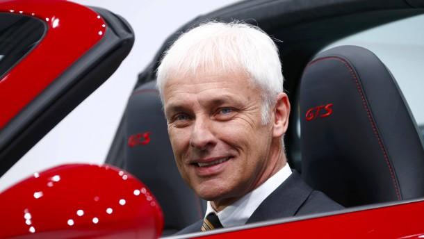 Dienen – bisher nur an der Porsche-Spitze