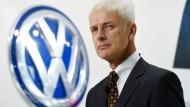Treibende Kraft hinter der Aktion: Volkswagenchef Matthias Müller