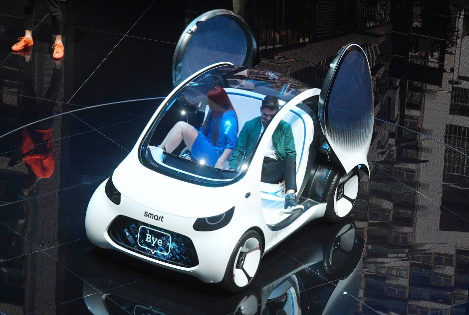 """Smart wird """"smart"""": Die Mercedes-Tochter will ab 2020 nur noch Elektroautos vertreiben."""