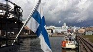 Der Hafen der finnischen Hauptstadt Helsinki.