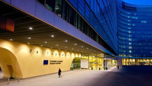 Berlaymont, Europäische Kommission in Brüssel