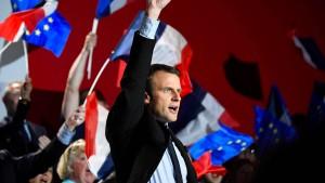 Warum Frankreichs Unternehmer auf Macron hoffen