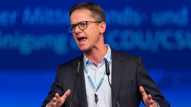 CDU-Flügel gegen jede Steuererhöhung