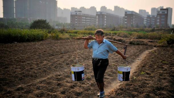 China rudert bei der Landreform zurück