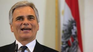 Österreichs Kanzler stellt Bankgeheimnis zur Disposition