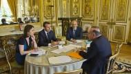 Macron nimmt seine erste große Reform in Angriff