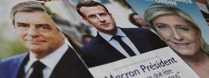 François Fillon (links)  und Emmanuel Macron sind die Lieblinge der Wirtschaft. Ihre Vorstellungen sind allerdings unterschiedlich.