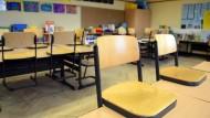 Leere Grundschule in Gelsenkirchen: NRWs Bildungseinrichtungen sind oft noch religiös geführt