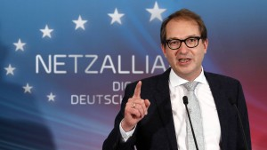Dobrindt: 100 Milliarden Euro für schnelleres Internet