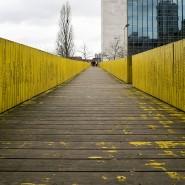 Eine Holzplanke für 25 Euro: Die Luchtsingel-Brücke in Rotterdam ist das bisher erfolgreichste crowdfinanzierte Stadtentwicklungsprojekt.