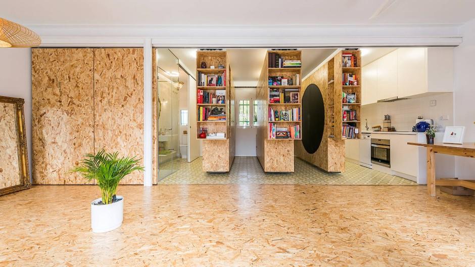 Haben unsere Wohnungen nicht mehr Verrücktheit nötig? Das Architekturbüro PKNM aus Madrid zum Beispiel hat schon vor einigen Jahren vorgemacht, was das bedeuten könnte.