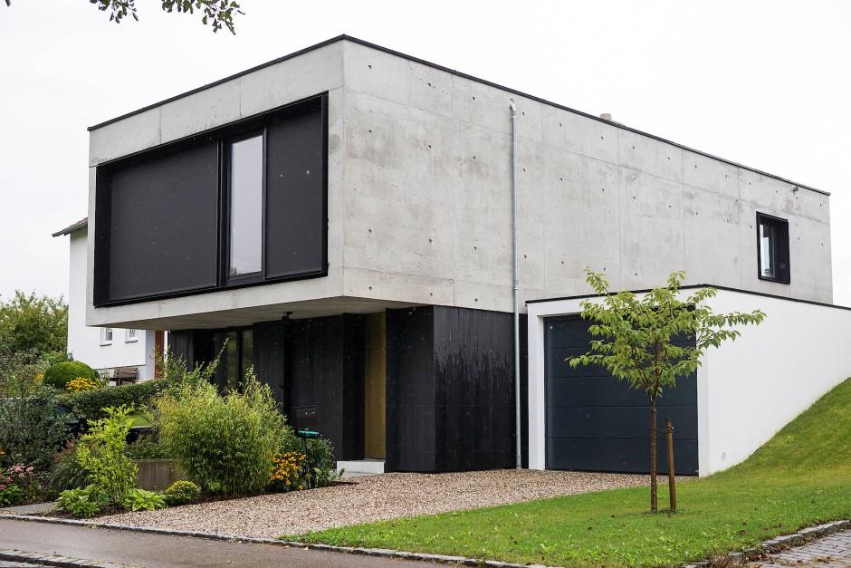 Umstrittener Baustoff: Architekten lieben Sichtbeton, dem Laien graut´s oft.