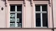 Zu vermietender Wohnraum, aufgenommen in Brandenburg an der Havel.