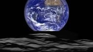 Aufnahme der Nasasonde Lunar Reconnaissance vom Dezember 2015.