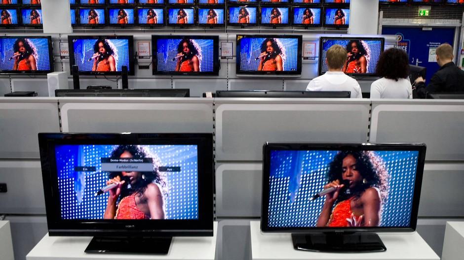 Begehrtes Metall: Indium steckt heute in fast allen Fernsehern, Computerbildschirmen und Touchscreens.