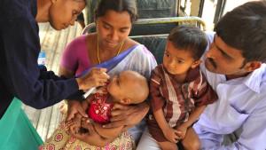 Richtig impfen gegen Kinderlähmung