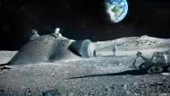 Europas Mondbasis: Iglu-Fertighaus aus dem 3D-Drucker.