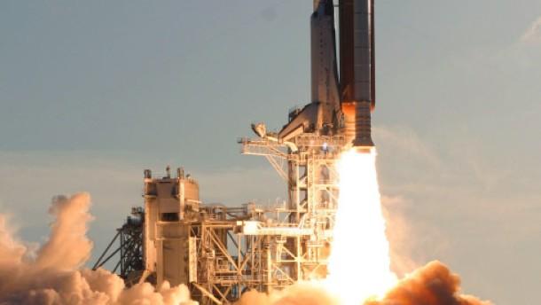 Nach geglücktem Start auf dem Weg zur ISS