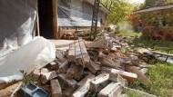 Folgen eines Bebens in Oklahoma 2011, ausgelöst von Abwasser