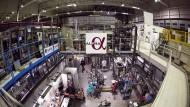 Alpha-Experiment am europäischen Forschungszentrum Cern bei Genf