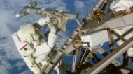 Wilmore und Virts beenden ISS-Außeneinsatz