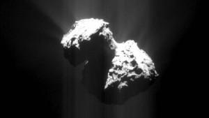 Wassereis auf dem Kometen Tschuri