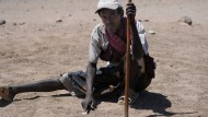 Der Finder des Oberkieferfragmentes: Mahammed Baroa, einer der Ausgräber im Afar-Gebiet.