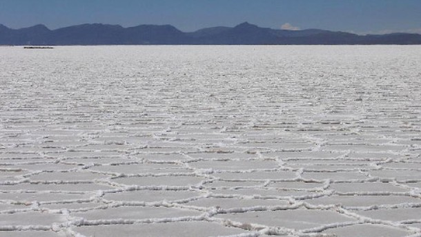 Salzpfannen als Mineraliensammler