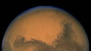 Riesige Wassereis-Vorkommen am Südpol des Mars