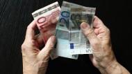 """Die Probanden erhielten monatlich 53 Euro """"Taschengeld""""."""