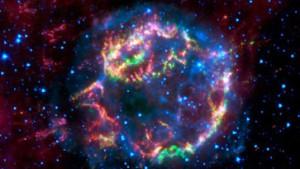 Das Echo einer Sternexplosion