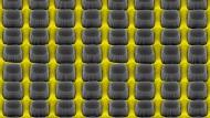 Das Array aus halbleitenden Nanosäulen auf einer Metalloberfläche absorbiert fast das gesamte auftreffende Licht.