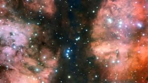 Scharfer Blick in eine Sternenkrippe