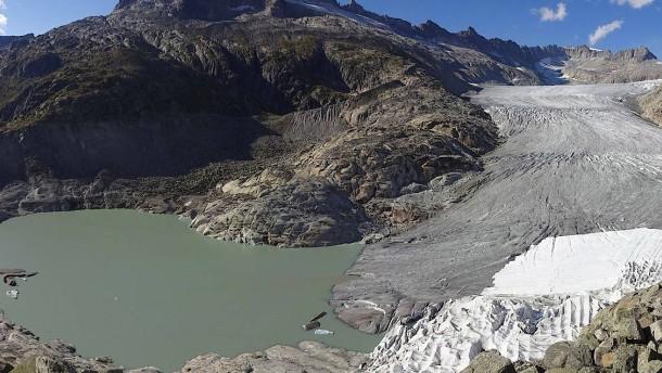 So extrem haben die Gletscher in diesem Sommer gelitten