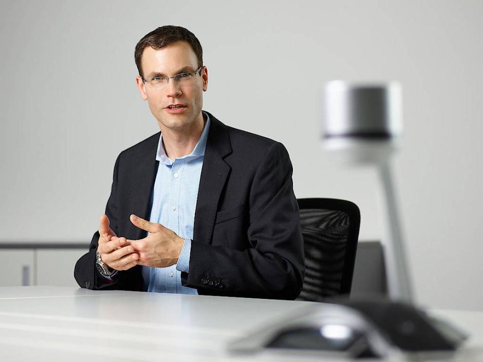 Markus Noga, Abteilungsleiter Maschinelles Lernen bei SAP in Walldorf.
