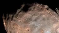 Ist sein Ende besiegelt?: der Marsmond Phobos