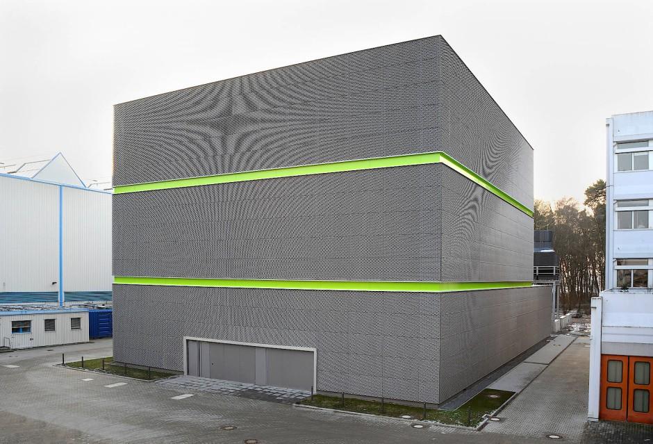 Das Green-Cube-Rechenzentrum an der GSI in Darmstadt