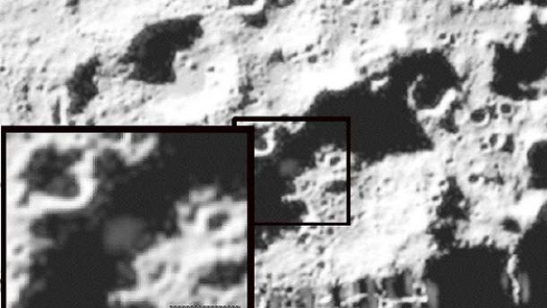 Nasa meldet Spuren von Wasser auf dem Mond